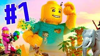 世界はレゴで出来ている!レゴ版マイクラで暴れまくる!! - LEGO Worlds