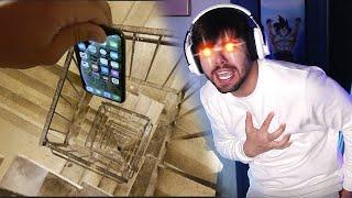 NÃO PODE SENTIR AGONIA - Pessoas Quebrando Iphone 11