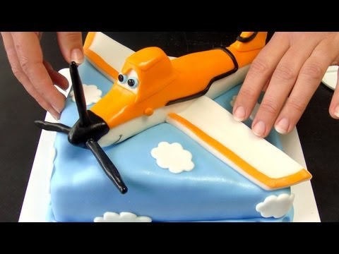 Disney Planes Cake - How To Tutorial (Dort Letadla)