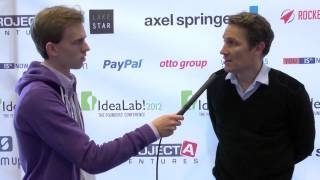 Marc böhm interviews oliver samwer at idealab!2012.idealab! - the founders' conference is biggest student-organized in germany. annu...