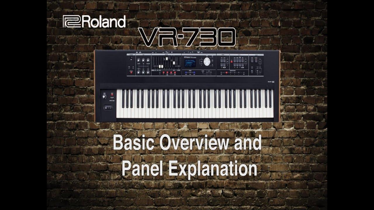 Roland VR730 Stage Keyboard