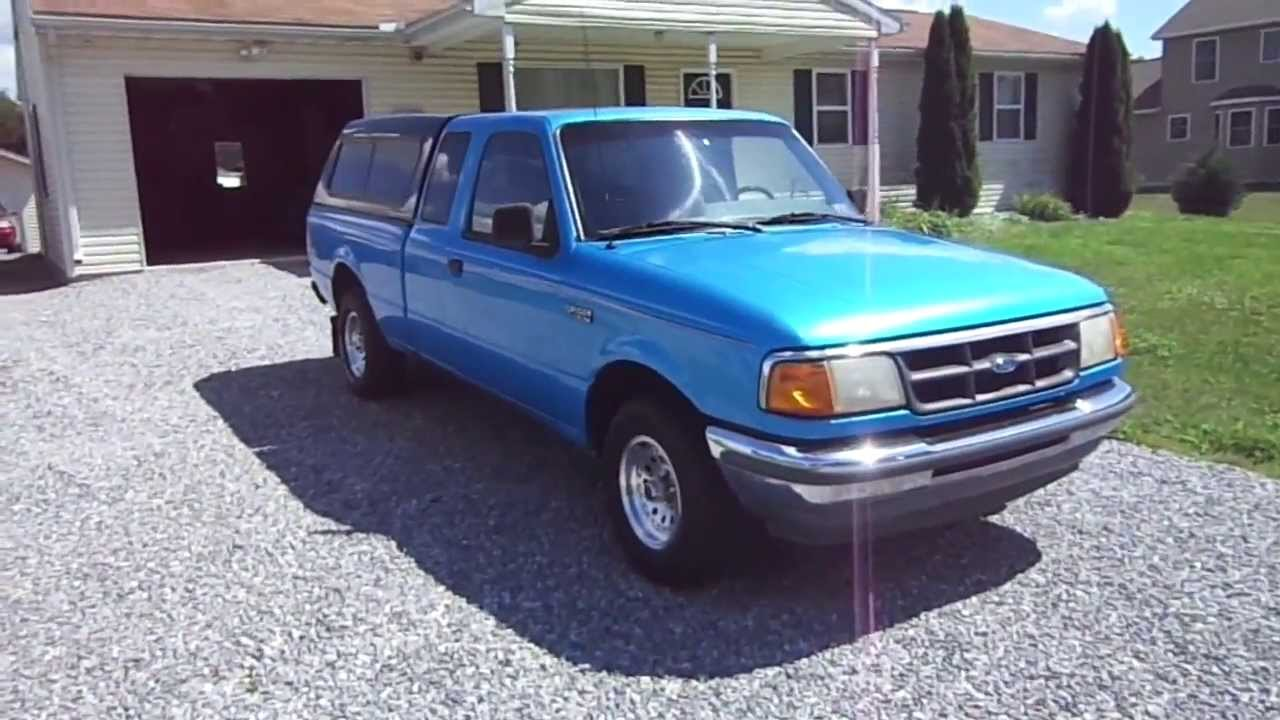 My 1993 ford ranger xlt supercab 2wd youtube