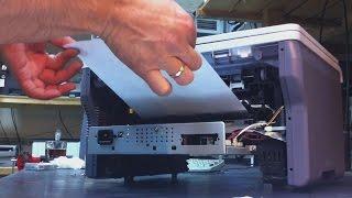 Samsung SCX-4200_4220 Замятие 1. Замятие 2 внутри устройства