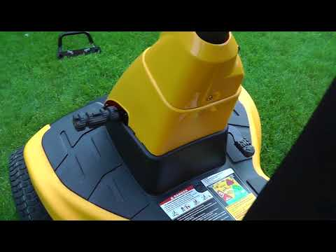2018 Cub Cadet CC30H Hydrostatic riding Lawnmower In-depth review