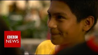 Eleven years old and locked up - BBC News