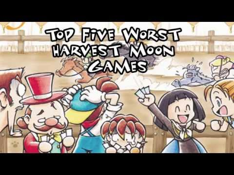 Get Top 5 Worst Harvest Moon Games Images