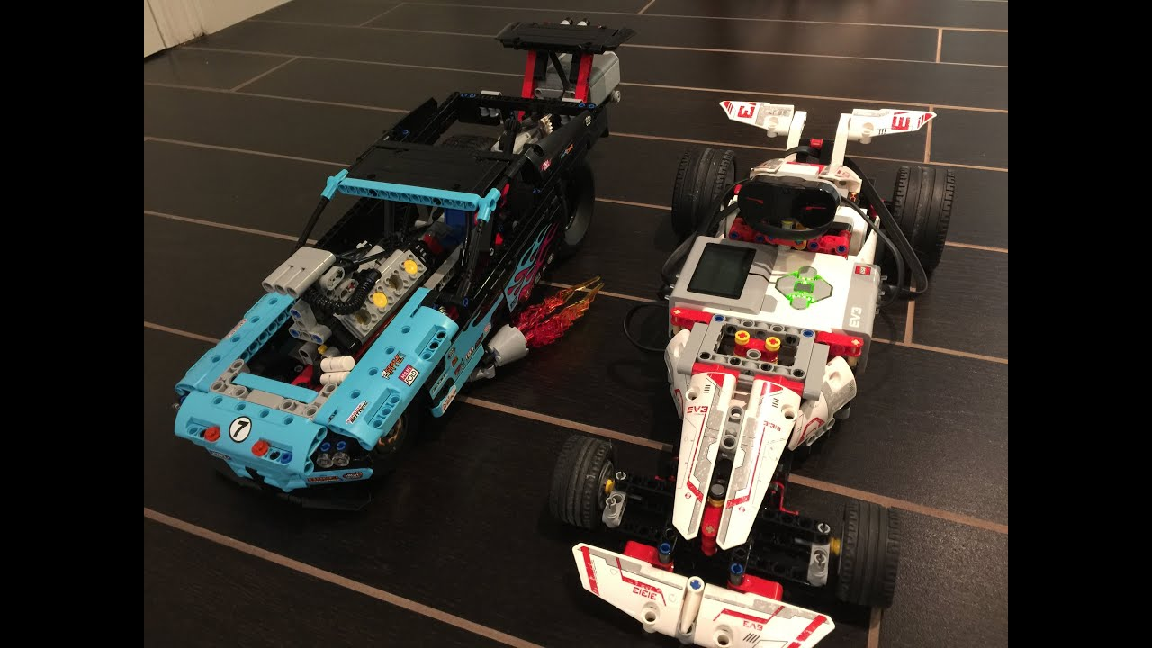 Mindstorms Race Car Powered by EV3 31313 - Drag Racer 42050 Powered ...