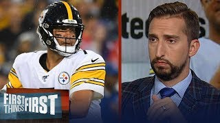 Nick Wright's biggest takeaway for Big Ben's 2019 preseason debut | NFL | FIRST THINGS FIRST