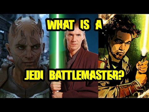 What is a Jedi Battlemaster?