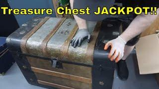 Treasure Chest Jackpot! Abandoned Storage Unit RARE FINDS!
