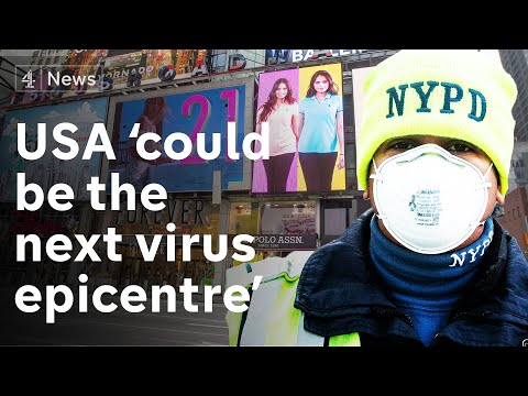 USA Could Be Next Virus Epicentre - As It Spreads Through New York 'like A Bullet Train'