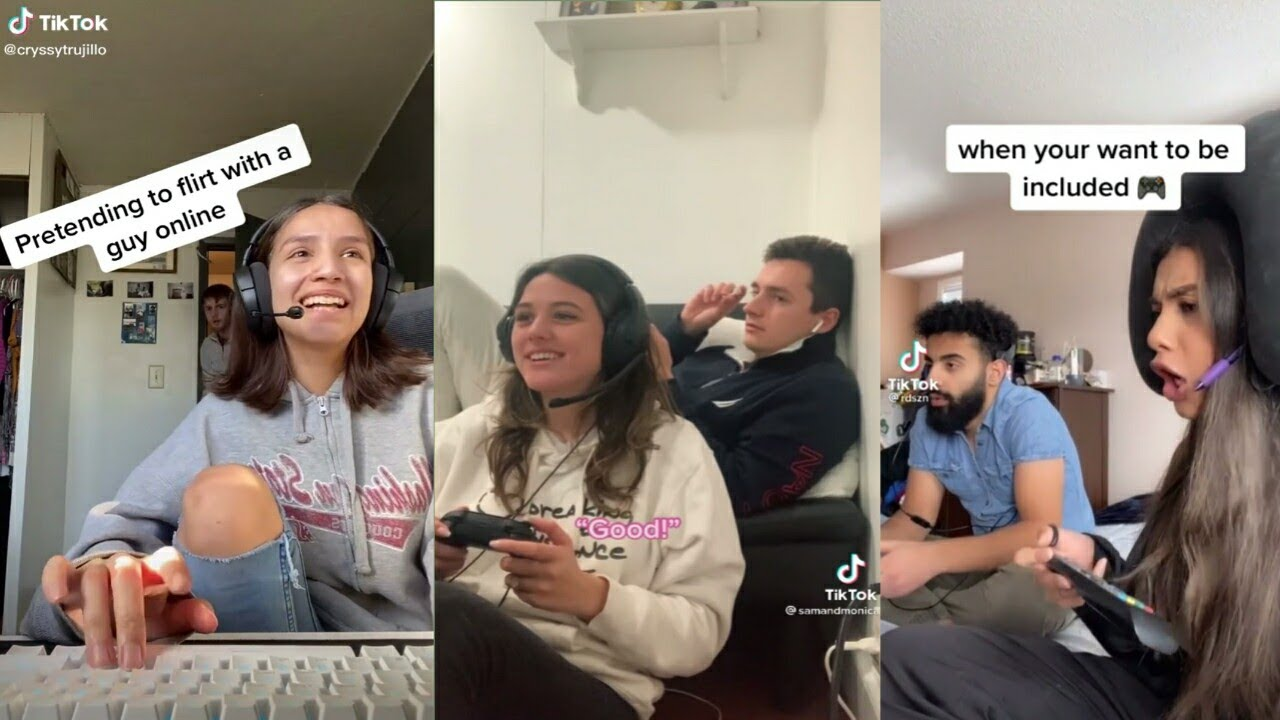 Download Pretending to Flirt With A Guy Online And See Bf Reaction Tiktok Compilation