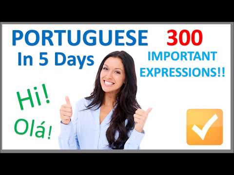 Learn Portuguese in 5 Days - Conversation for Beginners
