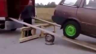 Авто приколы на дорогах, выпуск № 11 - смешная нарезка, 2014 год.