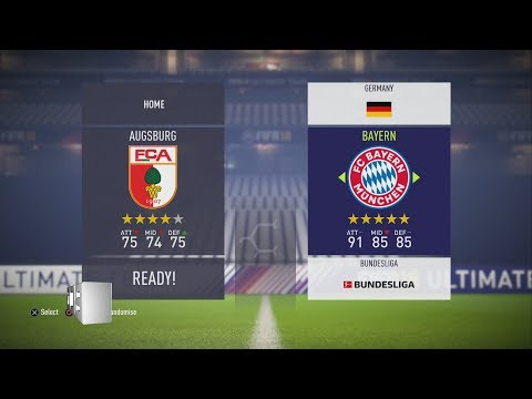 Fifa 18 German Bundesliga 1 Ratings & kits