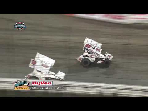 Knoxville Raceway 360 Highlights May 13, 2017