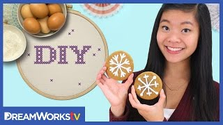 This Video Is Unavailable.     Kawaiisweetworld's Snowflake Cookies | Diy