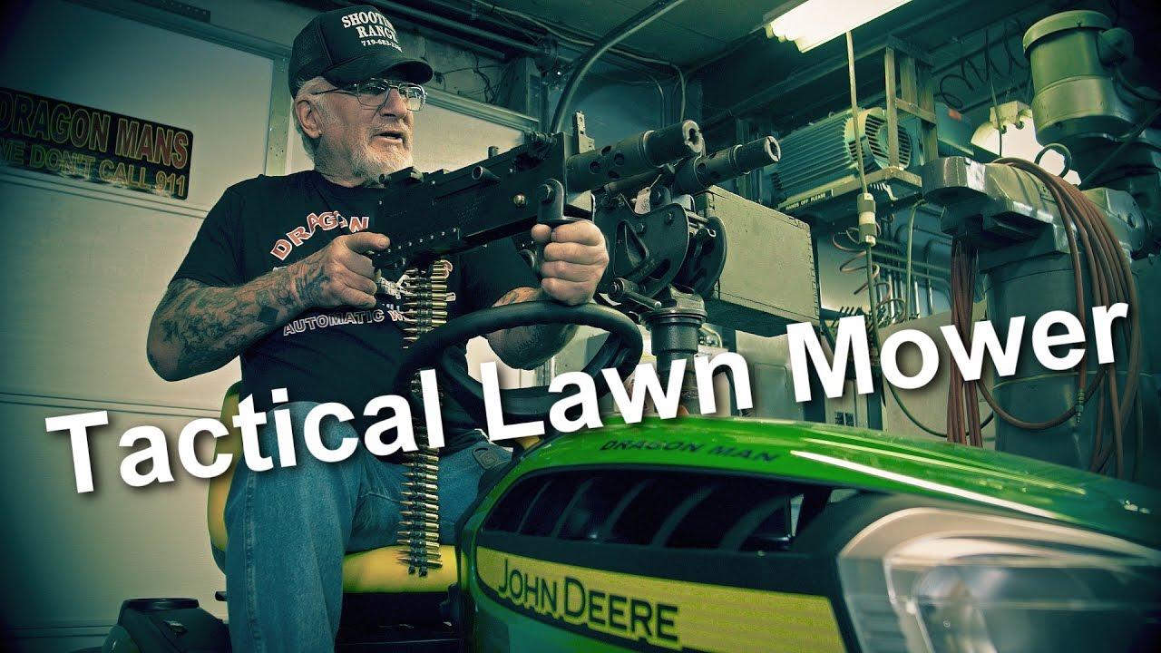 Tactical John Deer Lawn Mower Mod