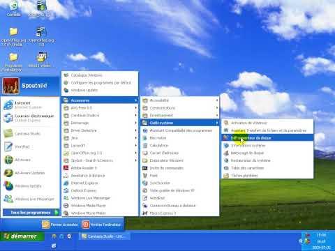Apprendre la maintenance informatique - Cours Formation Windows XP Français - 5.1