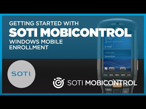 Getting Started With MobiControl: Windows Mobile Enrollment