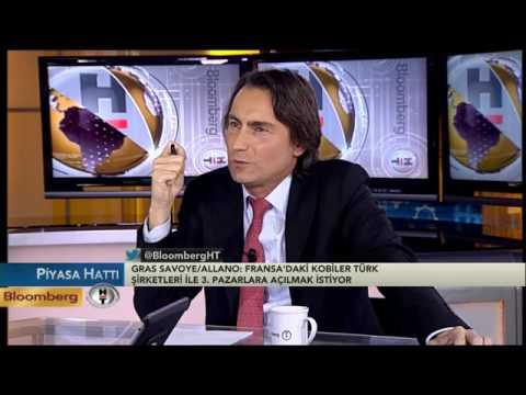 Bloomberg TV Piyasa Hatti 29.1.2014  - Gras Savoye Bölge Direktörü Nolwenn Allano konuşuyor