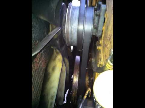 freightliner engine diagram c15    engine     serpertine belt removal and install youtube  c15    engine     serpertine belt removal and install youtube