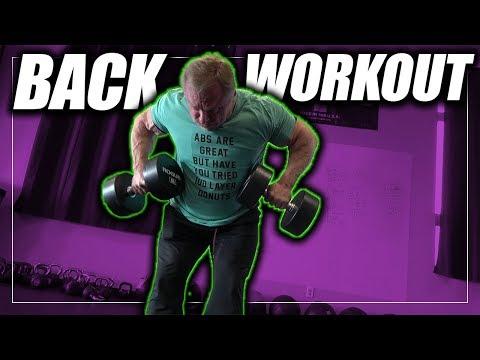 Rhomboid Focused Back Workout