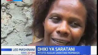 Dhiki Ya Saratani: Mtoto aga Saratani ya ngozi Mombasa