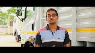 New TATA ULTRA 1518 product demonstration - Sitendu Roy