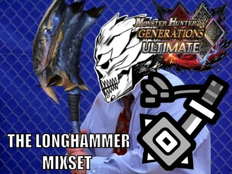 Monster Hunter Generations Ultimate - The Long Hammer Mix Set thumbnail