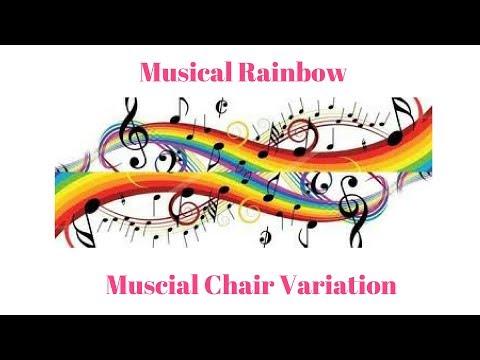 Group Game-Musical Rainbow (Musical chair variation)