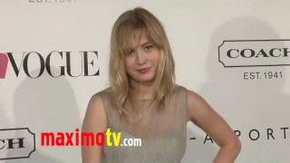 Brie Larson at Teen Vogue Young Hollywood Party Arrivals
