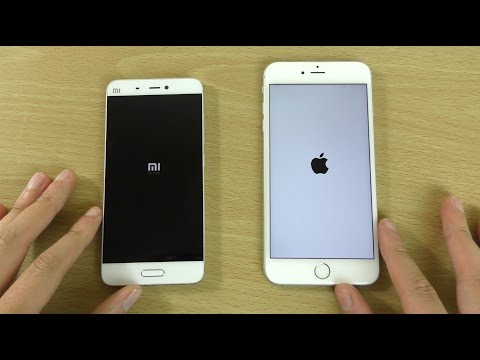 Xiaomi Mi5 vs iPhone 6S Plus - Speed & Camera Test!