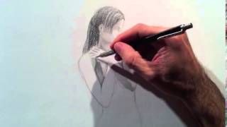 How to Draw an Angel by Pencil