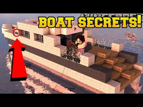 Minecraft: BOAT SECRETS!!! - Captain Seagull's Buttons 3 - Custom Map - Видео из Майнкрафт (Minecraft)
