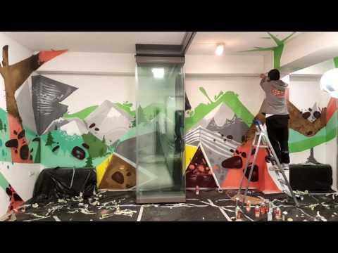 Graffiti time lapse- Valoso Hub