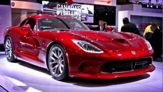 2013 Dodge SRT Viper || Canadian International Auto Show || CAR NATION CANADA