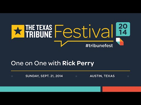 TribFest: One-on-One with Rick Perry