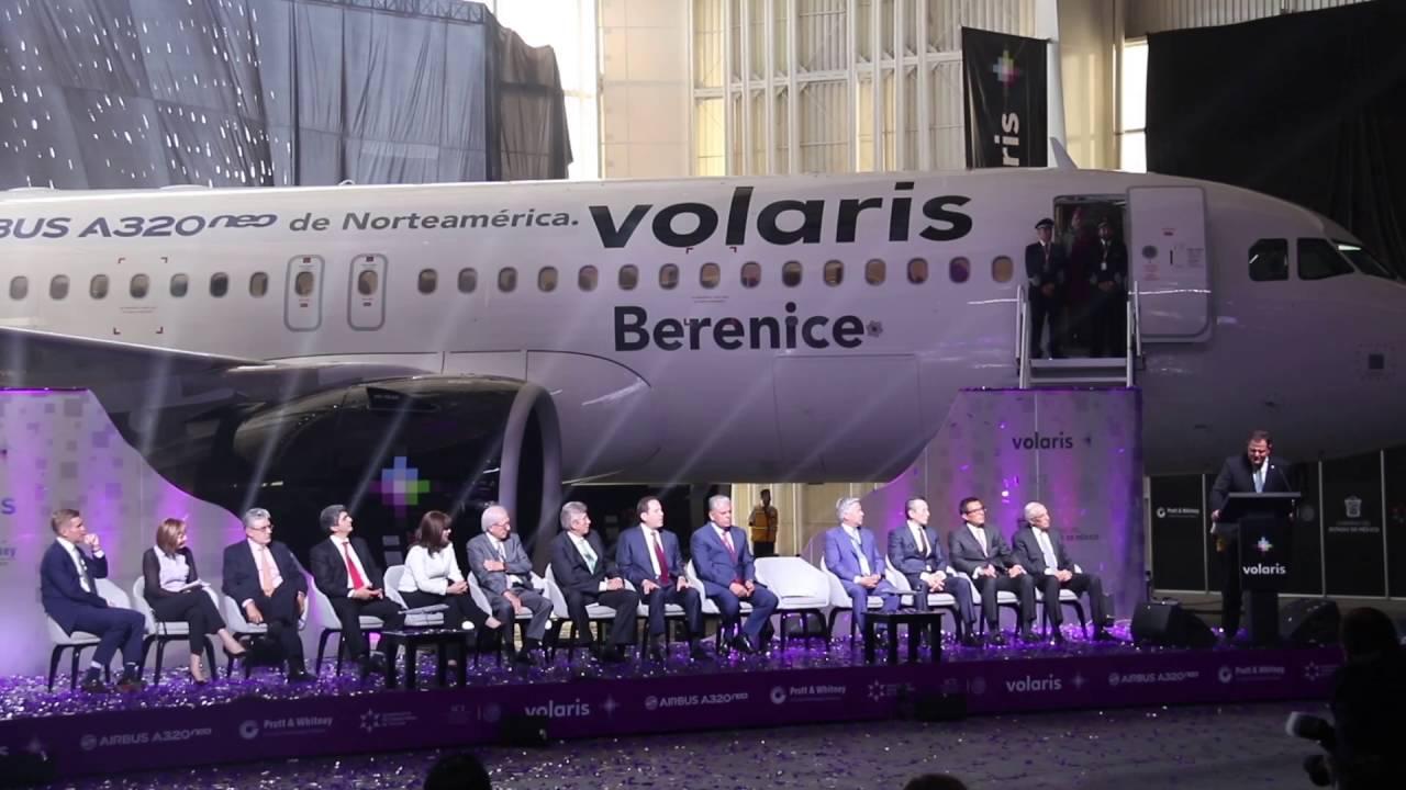El primer Airbus A320neo de Norteamérica. #Volaris - YouTube