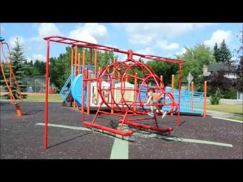 helicopter playground, Calgary, AB