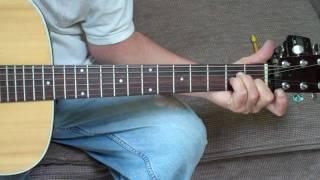 guitar lesson ~ no milk today ~ intro riff.MP4