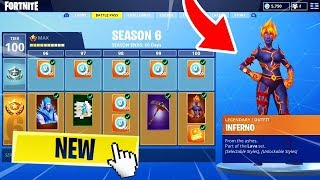THE COMBAT PASS OF SAISON 6 DISPONIBLE !?? Fortnite