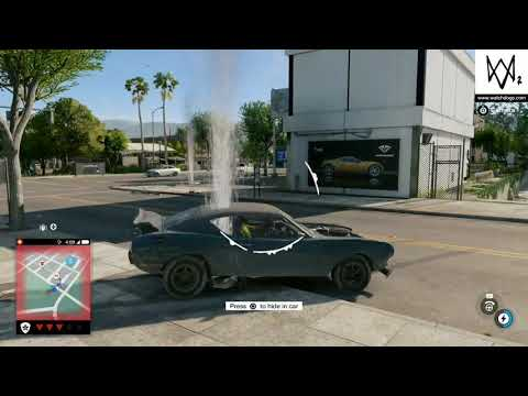 POLICE CHASE..GTA 5 PREMIUM EDITION VS WATCH DOGS 2#PS4