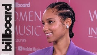 Alicia Keys on Receiving The Impact Award & Possible Billie Eilish Collaboration | Women In Music