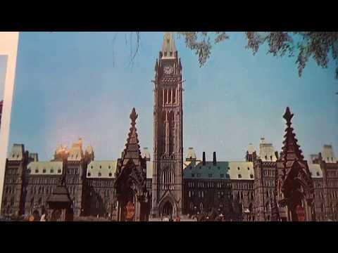 Souvenir Picture Book Of Canada