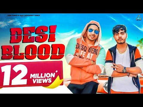 DESI BLOOD || Amanraj Gill || Sonika Singh & Rohit Tehlan || New Haryanvi DJ song 2018