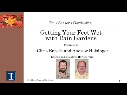 Four Seasons Gardening Series -  Rain Gardens
