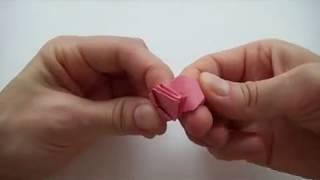 Поделки из бумаги | Как сделать оригами цветы(Подробнее как сделать цветы из бумаги и как сделать стебли для цветов: http://www.olyaruss.com/view_post.php?id=239., 2011-10-17T19:36:22.000Z)