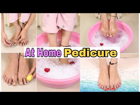 Tan Removal + Feet Whitening Pedicure At Home (Live Demo) Super Style Tips
