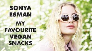 Sonya Esman's Top 3 HEALTHY and EASY Vegan Snacks